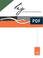Revista Psicanalise Sig 10
