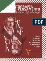A Autobiografia do Pensamento A Ciência da Lógica de Hegel 370 págs