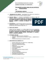 INFORME DE SERVICIO DE CAMIONETA MAQ SERVIDA (PRES MODI)