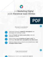 [Slides] Como o Marketing Digital pode Alavancar suas Vendas (Nova)