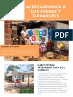 ACERCÁNDONOS A LOS PADRES Y CUIDADORES