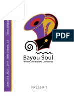2011 Bayou Soul Writers & Reader's Conference Press Release