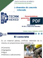 1.1 Características generales del concreto y del acero