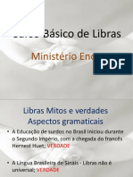 Curso Básico de Libras - Pib AULA 1 - MÓDULO I