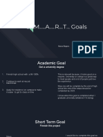 copy of goal project