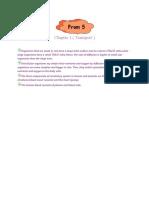 Short Note Biology Form 5-Chapter 1 Transport