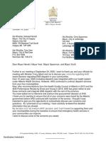 Dispatch Letter
