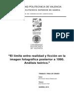 ATREES - El límite entre realidad y ficción en la imagen fotográfica posterior a 1990. Análisis t....pdf