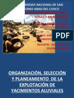 6.- ORGANIZ. SELECC. DE YAC ALUVIALES.ppt