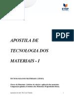 ApostilaTecnologia Materiais
