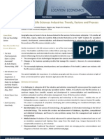 BLS &  Co - Location Strategies - Life Sciences Industry, TID Magazine, 2011