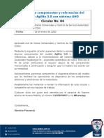 4-20. Cambios de componentes y referencias del modelo Agility 3.0 con sistema AHO.pdf