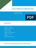 Dilusión de medicamentos