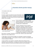 ConJur - Não reparar erro, fazendo cliente perder tempo, gera dano moral.pdf