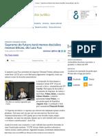 ConJur - Supremo do futuro terá menos decisões monocráticas, diz Fux.pdf