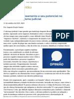 ConJur - Augusta Santos_ Decisão de saneamento e ativismo judicial