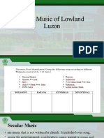 Vocal Music of Lowland Luzon