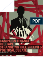 Campaign Finance Red Tape
