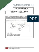 Tropa y Marinería - Ejemplo Test Razonamiento Mecánico
