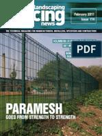 Fencing News - February 2011
