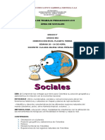 GUIA #01  SOCIALES 5