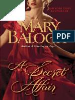 A Secret Affair by Mary Balogh (Excerpt)