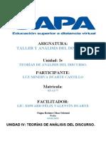TAREA IV DE TALLER Y ANÁLISIS DEL DISCURSO (1)