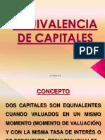 Unidad 2 Equivalencia de Capitales- Cra. Rott