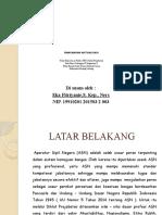 Presentasi Laporan Aktualisasi Nilai-Nilai Profesi PNS
