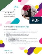Magazine Company Profile by Slidesgo