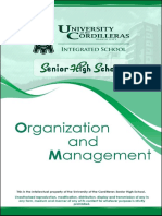 Org Man Module 9 Functional Areas of Management