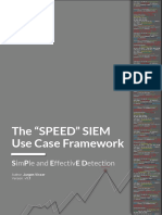 SPEED Use Case Framework v1.1
