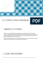 E-types logo design