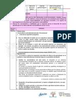 Ficha  Pedagógica  3ro de BGU FASE IV 03 al 05 de Junio