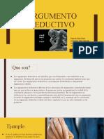 ARGUMENTO DEDUCTIVO-2