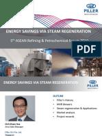 12-Piller-Energy savings via steam regeneration