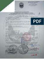 attestation de DEA-5