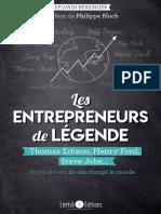 les entrepreneur de legénde