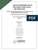 Amul's distribution strategy