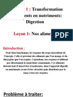 La digestion (nos aliments)