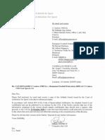 """Decizia TAS cu privire la numele """"Universitatea Craiova"""""""
