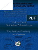 4. Disaster Recovery and Business Continuity