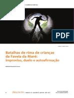 Batalhas de rima de crianças da Favela da Maré improviso, duelo e autoafirmação.pdf
