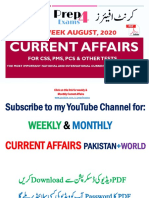 2nd Week August 2020 Current Affairs - Prep4exams.pdf