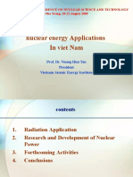 nuclear energy Applications