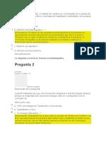 EVALUACIÓN UNIDAD 2 FUNDAMENTOS DE MERCADEO