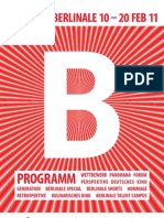 61st Berlinale 2011 (10th-20th Febr) - complete Programme (PDF Web Version - Only in German available)
