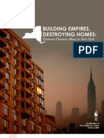Building Empires Destroying Homes