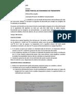 SEGUNDO EXAMEN PARCIAL DE FENOMENO DE TRANSPORTE