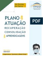 Plano de Atuação para a Recuperação e Consolidação das Aprendizagens (PARCA) - AEPJS 2020-2021